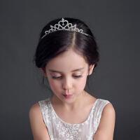 儿童发饰女童头饰女孩公主王冠皇冠发箍水钻万圣节演出