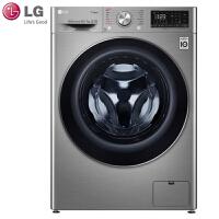 LG洗衣机FR10TX4 家用10.5公斤大容量变频纤薄机身款全自动滚筒洗烘一体洗衣机 7公斤烘干 智能 DD直驱