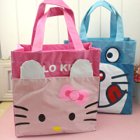 手提包 收纳整理袋可爱卡通时尚便当包 饭盒包