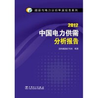 能源与电力分析年度报告系列 2012 中国电力供需分析报告