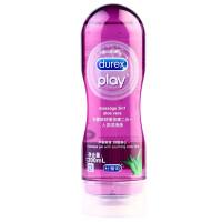 Durex 杜蕾斯 润滑液 润滑油 成人 男女用 人体润滑剂 情趣 水溶性 舒缓按摩油 芦荟爽滑200ml 原装进口