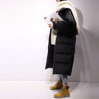 羽绒服女中长款新款韩版潮女装时尚过膝长款女士冬装外套反季GC36