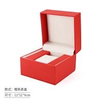 机械表盒皮质手表收纳盒pu皮饰品首饰展示盒男女机械表盒包装盒