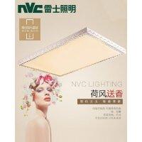 雷士照明 led长方形圆形客厅卧室水晶吸顶灯 现代简约大气灯具