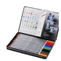 德国STAEDTLER施德楼 125 M24 24色 水溶彩铅 水溶性彩色铅笔 60色ZZ