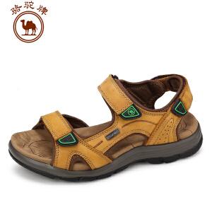 骆驼牌男鞋 夏季新款凉鞋 日常休闲沙滩鞋舒适透气