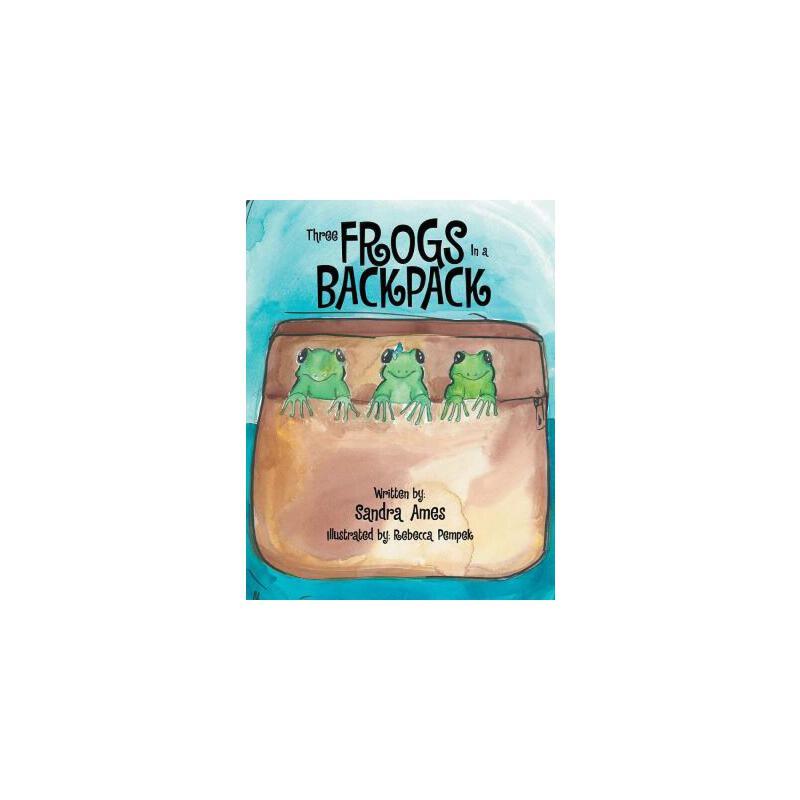 【预订】Three Frogs in a Backpack 预订商品,需要1-3个月发货,非质量问题不接受退换货。