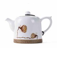 手绘茶壶陶瓷功夫茶具套装单壶 景德镇手绘茶具过滤茶壶