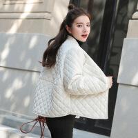 女2018新款冬装金丝绒宽松加厚ins棉袄女短款韩版冬季外套女