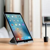 平板电脑懒人桌面铝合金支架适用于苹果iPad mini Pro air2 3支架 银色