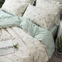 【】放心购 ins床上四件套全棉纯棉公主风碎花网红款床单被套4三件套床品夏季