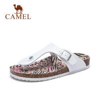 camel骆驼女鞋 春夏新款女人字拖凉鞋舒适简约女凉拖