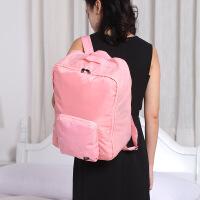 多功能旅行袋双肩背包大容量女轻便行李收纳包折叠手提可套拉杆男 大