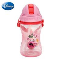 新款正品迪士尼塑料杯 儿童pp吸管杯 360ml小号活力水壶 厂家直销