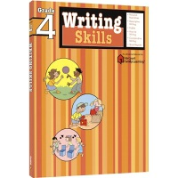 Harcourt Family Learning Writing Skills 写作技巧和思路 小学4年级练习册 单词句