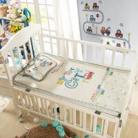 御目 婴儿凉席 夏凉印花卡通冰丝席幼儿园儿童床宝宝枕头空调席子家居床上用品儿童床品