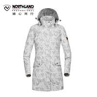 【超级品牌日 聚划算价折上9折】诺诗兰NORTHLAND 2017户外新品女式防风防水保暖冲锋衣 GS062626