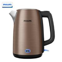 飞利浦(PHILIPS)电水壶热水壶电热水壶不锈钢1.7L防干烧带保温功能 HD9355