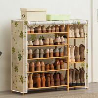 淘之良品简易鞋柜鞋架子多层门口家用经济型收纳置物架实木宿舍防尘