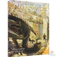 Harry Potter and the Goblet of Fire 哈利波特与火焰杯 全彩精装珍藏版 英版 J.K.