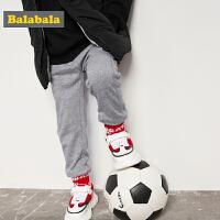 巴拉巴拉童装男童裤子小童宝宝长裤春秋2018新款韩版儿童休闲裤棉