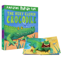 Amazing Pop-Up Fun The Very Clever Crocodile 聪明的鳄鱼 3D立体故事 3