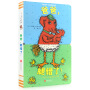 正版 宝宝的拼拼游戏书:爸爸腿错了纸板书正版 婴儿宝宝翻翻书籍正版 0-3岁立体触摸图画书