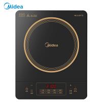 美的(Midea)电磁炉 C21-RT21E0105 爆炒 智能触控式 大线盘 家用多功能大火力电磁炉 2100w电磁