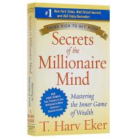 有钱人想的和你不一样 英文原版 Secrets of the Millionaire Mind 资金管理 百万富翁的秘密