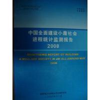2008中国全面建设小康社会进程统计监测报告