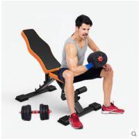 折叠收纳瘦身减肥多功能健腹肌板哑铃凳仰卧板仰卧起坐健身器材家用收腹器
