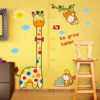 御目 贴纸 儿童房壁纸宿舍宝宝装饰墙纸贴画墙贴自粘卧室测量身高贴纸可移除
