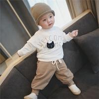 男童 宝宝秋装 儿童 女童 套装 两件套