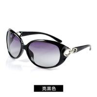 偏光镜太阳镜女时尚女士太阳眼镜 墨镜 蛤蟆款