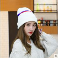 韩国 保暖毛线帽休闲百搭甜美冬天潮套头帽子针织帽韩版女帽