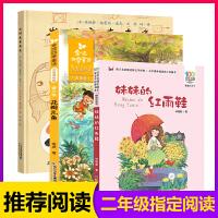 全3册 二年级学校推荐必读 发明家奇奇兔 注音版妹妹的红雨鞋花瓣儿鱼7-10岁儿童读物三年级必读小学生课外阅读书籍儿童