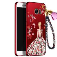 三星 s7edge手机壳 三星S7保护套 三星s7 edge g9300 g9350 手机壳套 保护壳套 个性挂绳全包