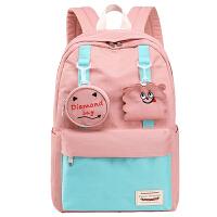 高中学生书包女初中生大容量双肩包简约大学生旅行电脑背包
