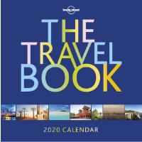 现货 2020年旅行主题日历 英文原版 The Travel Book Calendar 2020 孤独星球 lonely planet 旅行计划 目的地信息