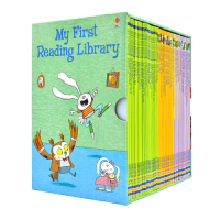 Usborne My First Reading Library 我的第一个图书馆50册套装 儿童英语自然拼读绘本 幽
