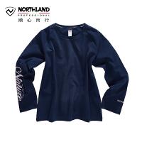 【顺心而行】NU诺诗兰户外新款春夏舒适透气女士长袖T恤圆领衫KL072117