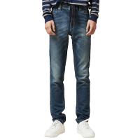 【网易严选3件3折】男式舒适弹力牛仔裤