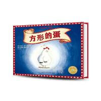 方形的蛋 精装海豚绘本花园 诚实诚信教育儿童0-3-4-6岁幼儿园宝宝早教幼儿启蒙小学一二三年级阅读故事书批发