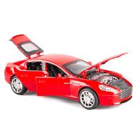 阿斯�D�R丁汽�模型�e利跑�仿真�和�合金�模男孩玩具回力小汽�