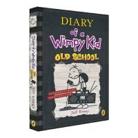 Diary of a Wimpy Kid #10 Old School 小屁孩日记英文版 第十集 传统VS现代生活 儿