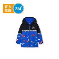 【1件4.5折到手价;143.6】361度男童梭织外套2020年春季新品K51934652
