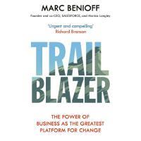 现货 开拓者 salesforce创始人 马克・贝尼奥夫 Marc Benioff 英文原版 TRAILBLAZER 商