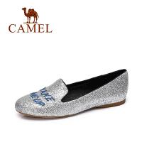 Camel/骆驼女鞋  春夏新款 时尚百搭乐福鞋 休闲平底鞋