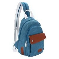 学院风帆布包休闲包女包斜跨旅行包背包小双肩包胸包包