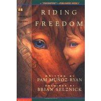 英文原版 自由驰骋 获奖儿童小说 文学读物 Pam Munoz Ryan: Riding Freedom